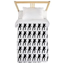 Fighting Silhouette or Icon Twin Duvet
