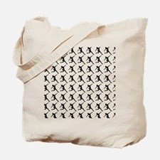 Figure Skating Silhouette or Icon Tote Bag