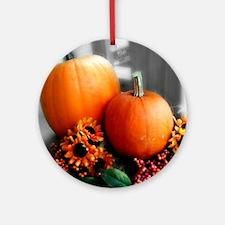 Autumn Daze Round Ornament