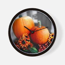 Autumn Daze Wall Clock
