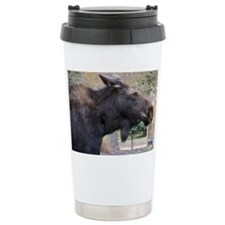 Moose Portrait Travel Mug