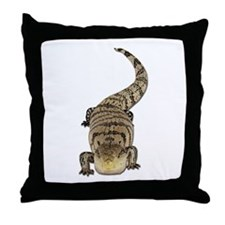 Blue Tongue Skink Throw Pillow
