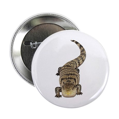 Blue Tongue Skink Button