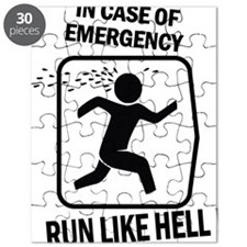 Run like hell Puzzle