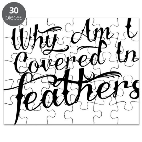 Covered in Feathers Puzzle