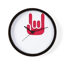 I Rock WODs Wall Clock