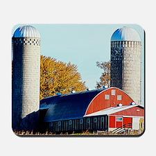 Rural farm Mousepad