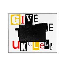 Ukulele Ransom Note Picture Frame