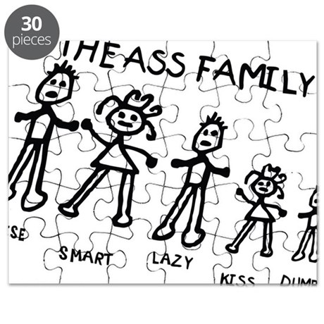 The ass family Puzzle