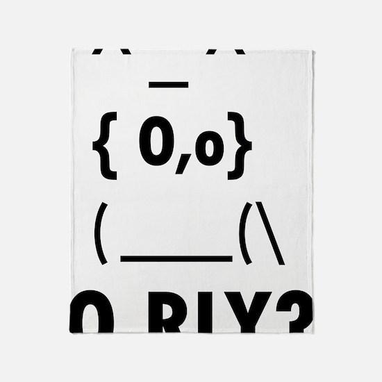 O rly Throw Blanket