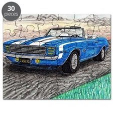 The Classic 1969' Camaro SS 396' Puzzle