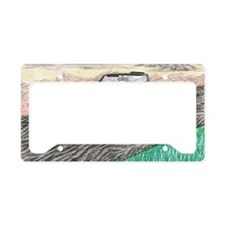 The Classic 1969' Camaro SS 3 License Plate Holder