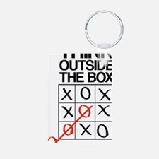 Think outside the box Keychains