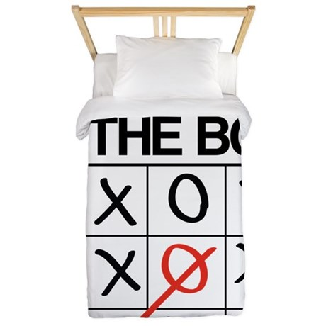 Think outside the box Twin Duvet