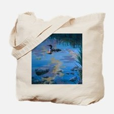 Loon Light Tote Bag