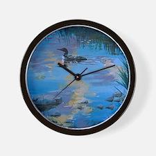 Loon Light Wall Clock