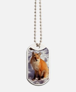 Red Fox Dog Tags