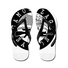 Camo Nation Member Flip Flops