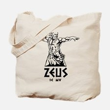 Zeus is my homeboy Tote Bag