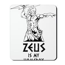 Zeus is my homeboy Mousepad