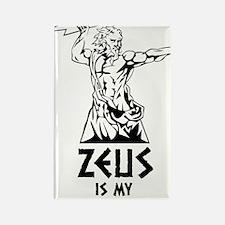 Zeus is my homeboy Rectangle Magnet
