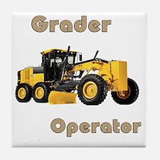 Road Grader Tile Coaster