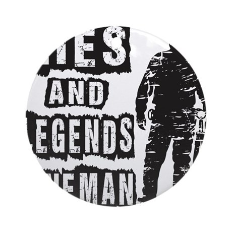 Lies and Legends Lineman Round Ornament