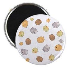 Kitty Faces Pattern Magnet