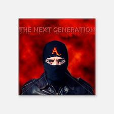 "Next Generation Square Sticker 3"" x 3"""