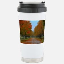 Dreamy Fall New England Stainless Steel Travel Mug