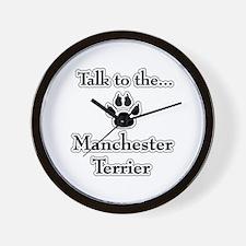 Manchester Talk Wall Clock