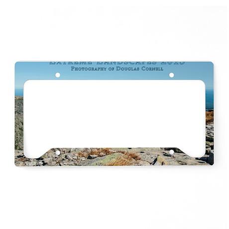 Extreme Landscapes 2013 License Plate Holder