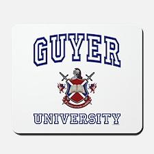GUYER University Mousepad