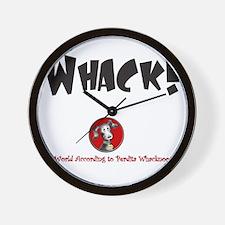 Whack Hoodie Wall Clock