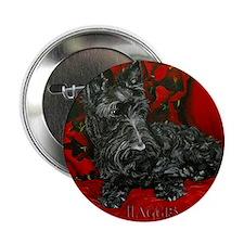 """Haggis Scottish Terrier 2.25"""" Button"""