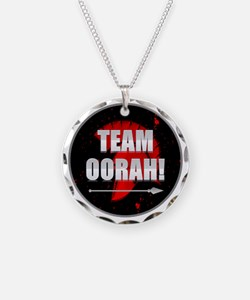 Team Oorah Shirt Necklace