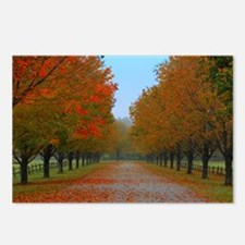Dreamy Fall New England D Postcards (Package of 8)