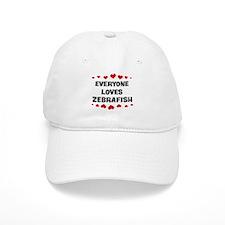 Loves: Zebrafish Baseball Cap