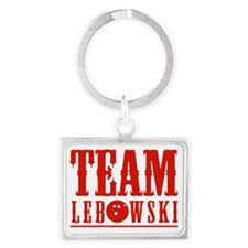 Team Lebowski Landscape Keychain