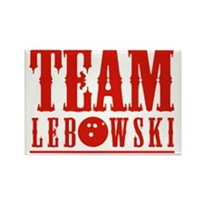 Team Lebowski Rectangle Magnet