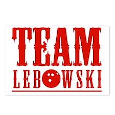 Team Lebowski Postcards (Package of 8)