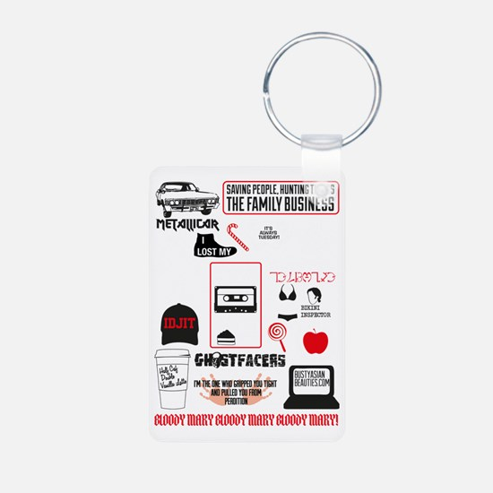 SPN Favourite Quotes 4 Keychains