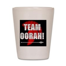 team oorah Shot Glass