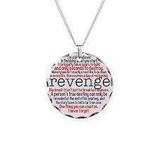Revenge Quotes Necklace
