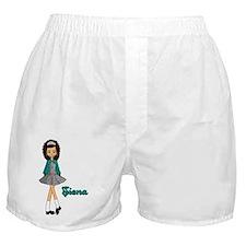 siena teal Boxer Shorts