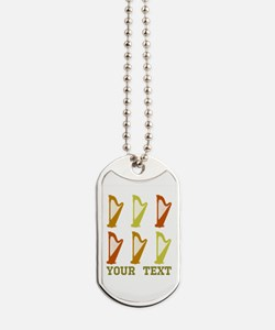 Personalized Harp Dog Tags