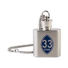 GUAM 33 Flask Necklace