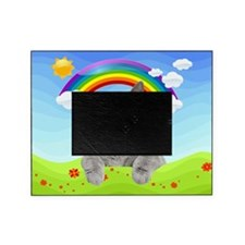 Rainbow Kitty Picture Frame