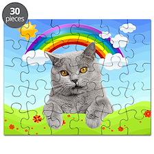 Rainbow Kitty Puzzle