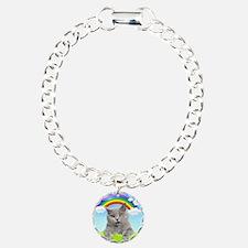 Rainbow Kitty Bracelet